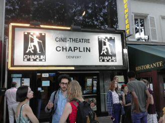 LA VIE DE CHATEAU, Chaplin denfert